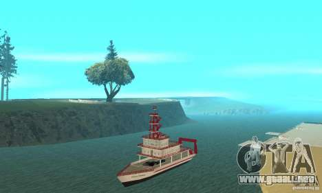 Vice City Ferryboat para GTA San Andreas