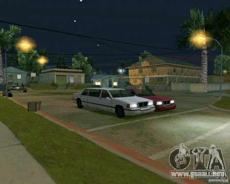 Elegant Limo para GTA San Andreas