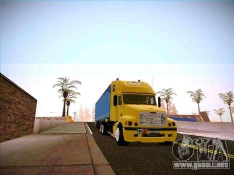 Freightliner Century Classic para GTA San Andreas vista hacia atrás