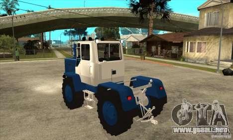 Corte de tractor para GTA San Andreas vista posterior izquierda