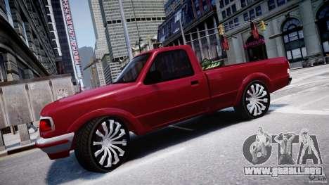 Ford Ranger para GTA 4 left