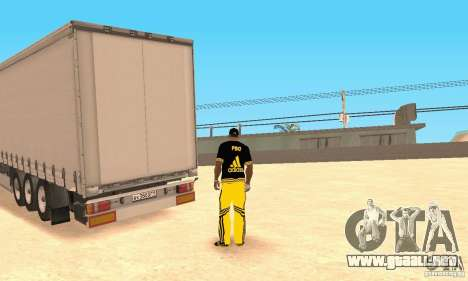 Krone Trailer para GTA San Andreas left