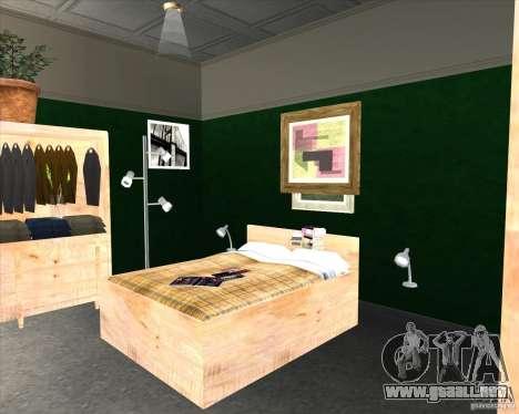 New Interior of CJs House para GTA San Andreas