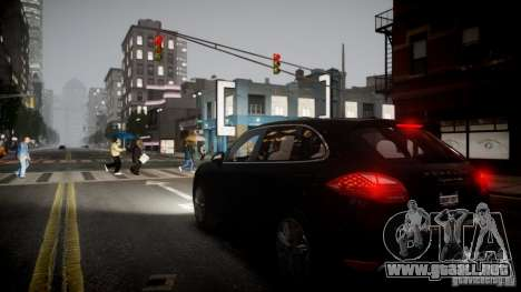 Porsche Cayenne Turbo 2012 para GTA 4 left