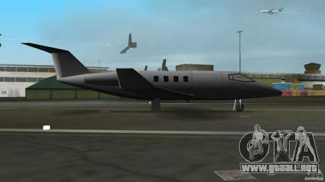 Shamal Plane para GTA Vice City vista lateral izquierdo
