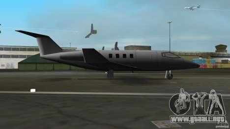 Shamal Plane para GTA Vice City vista lateral izquierdo