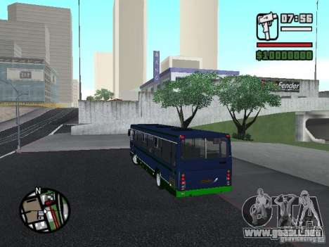 LIAZ 5256.25-II para GTA San Andreas left
