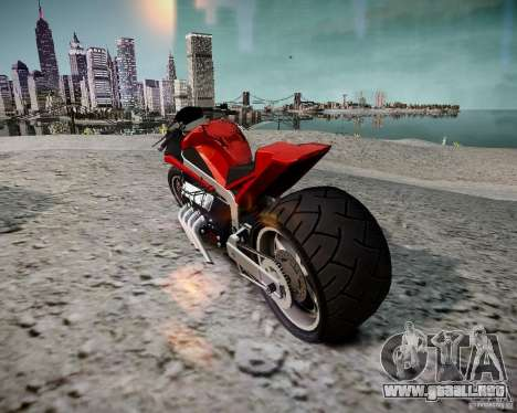 Drag Bike para GTA 4 left
