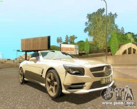 Mercedes-Benz SL350 2013 para el motor de GTA San Andreas