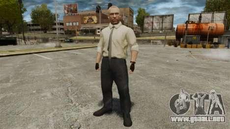 Jason Hudson para GTA 4 adelante de pantalla