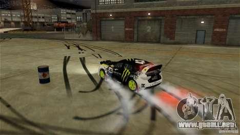 Subaru Impreza WRX STI Rallycross Monster Energy para GTA 4 interior