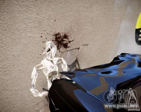 Crash Test Dummy para GTA 4 quinta pantalla