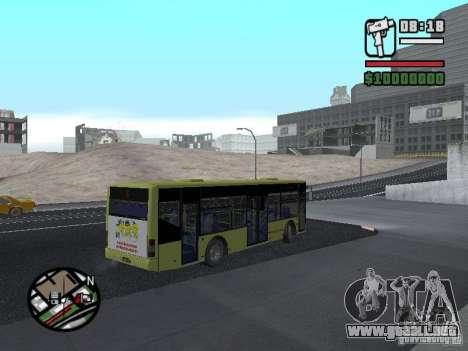 LAZ presentada (SitiLAZ 10) para GTA San Andreas left
