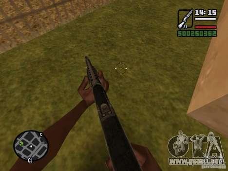 Escopeta para GTA San Andreas tercera pantalla