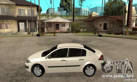Renault Megane II Sedan para GTA San Andreas left