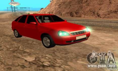 Camioneta LADA priora para GTA San Andreas