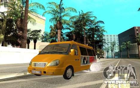 Gacela 32213 (Restajl) para GTA San Andreas