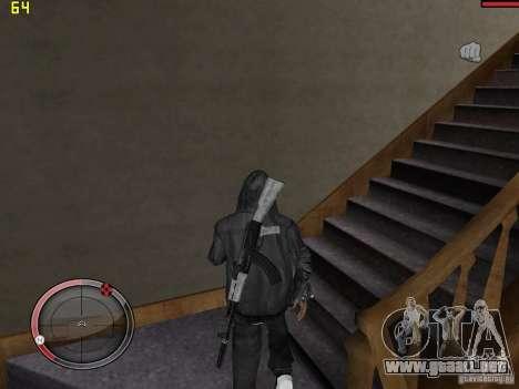 Walk style para GTA San Andreas sucesivamente de pantalla