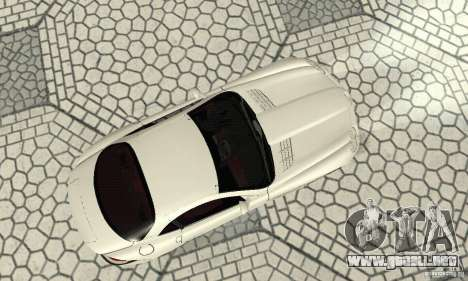 Mercedes-Benz McLaren V2.3 para GTA San Andreas vista hacia atrás