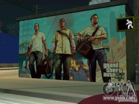 Cartel de GTA V para GTA San Andreas tercera pantalla