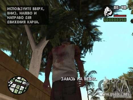 Markus young para GTA San Andreas sexta pantalla