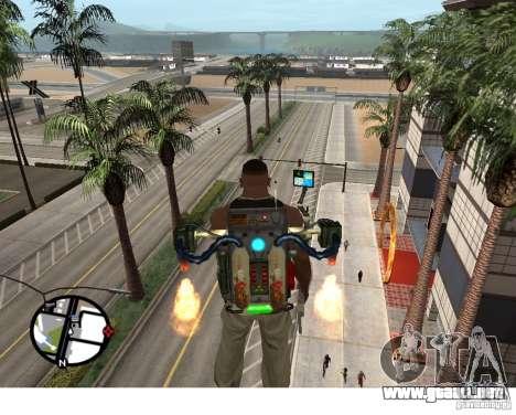 Un nuevo Jetpack para GTA San Andreas segunda pantalla