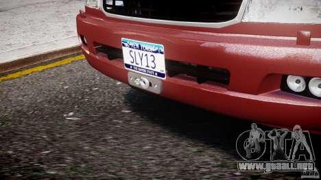 Toyota Land Cruiser 100 Stock para GTA 4 interior