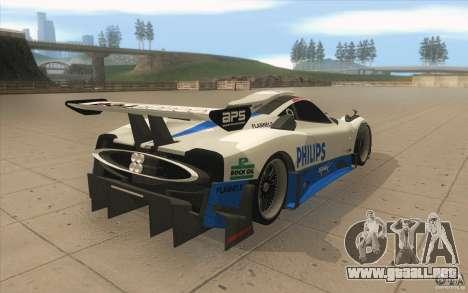Pagani Zonda Racing Edit para vista lateral GTA San Andreas