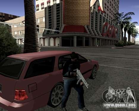 Cubierta del sistema para GTA San Andreas tercera pantalla