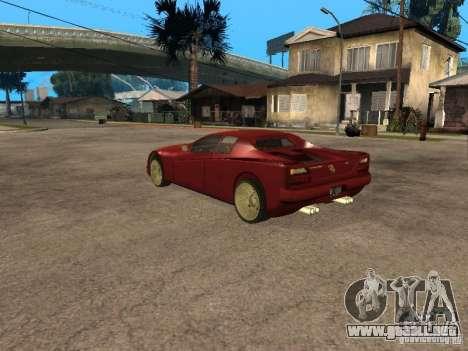 HD Cheetah para GTA San Andreas left