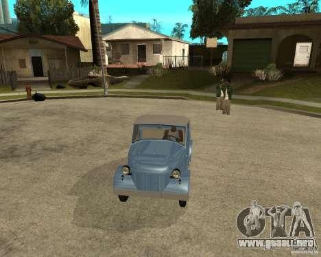 SMZ s-3A para GTA San Andreas vista hacia atrás