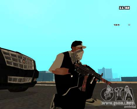 Weapon Pack para GTA San Andreas tercera pantalla