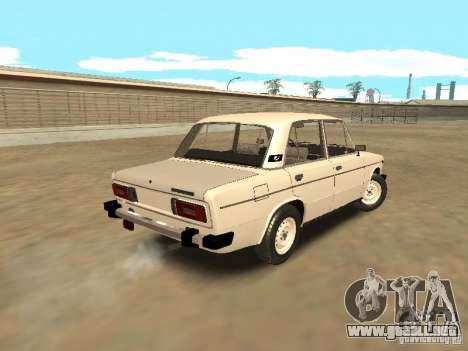 VAZ 21063 para GTA San Andreas vista posterior izquierda