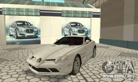 Mercedes-Benz McLaren V2.3 para GTA San Andreas left