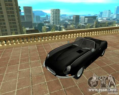 Jaguar E-Type 1963 para GTA San Andreas
