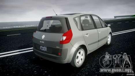 Renault Scenic II Phase 2 para GTA 4 vista interior