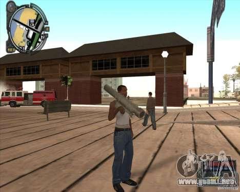 S.T.A.L.K.E.R. Call of Pripyat HUD for SA v1.0 para GTA San Andreas tercera pantalla