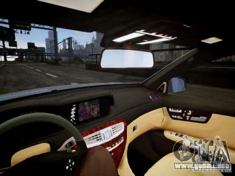 Mercedes-Benz CL65 AMG para GTA 4 vista interior