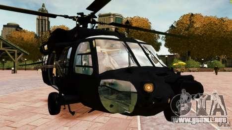 MH-60K Black Hawk para GTA 4 visión correcta