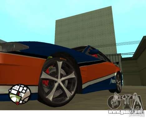 Ruedas del juego Juiced 2 Pack 1 para GTA San Andreas segunda pantalla
