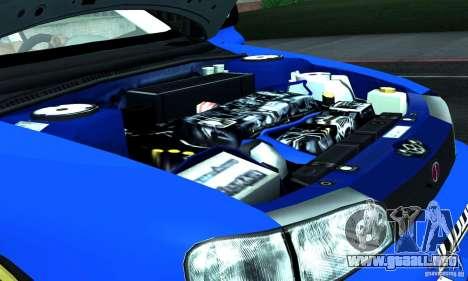 Subaru Impreza 1995 World Rally ChampionShip para la vista superior GTA San Andreas