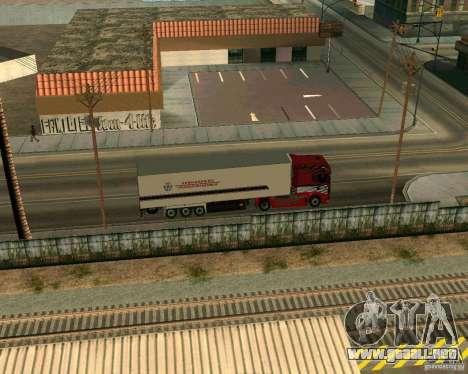 Scania TopLine para la visión correcta GTA San Andreas