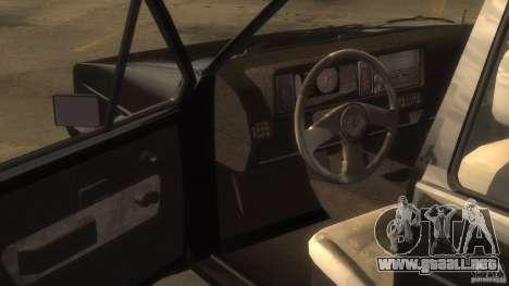 Volkswagen Golf para GTA 4 Vista posterior izquierda