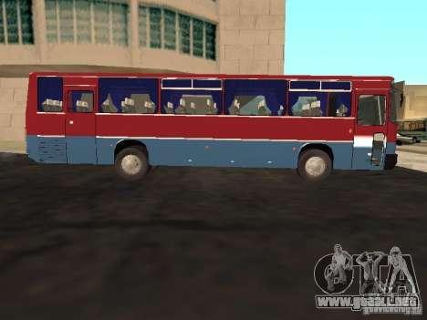 Ikarus 255 para GTA San Andreas left
