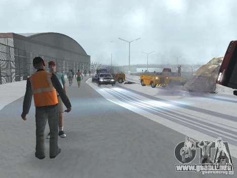 Aumentar el tráfico para GTA San Andreas tercera pantalla