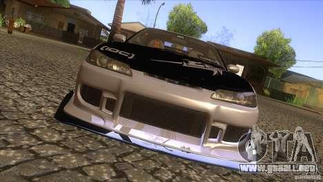 Nissan Silvia S15 Logan para visión interna GTA San Andreas