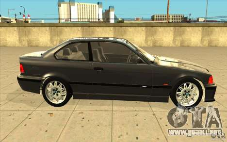 BMW E36 M3 - Stock para visión interna GTA San Andreas