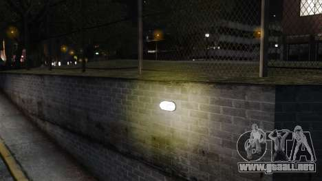 Luz luces amarillas para GTA 4 adelante de pantalla