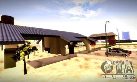 Drag Track Final para GTA San Andreas segunda pantalla