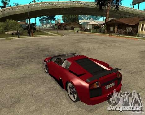Lamborghini Murcielago SHARK TUNING para GTA San Andreas left